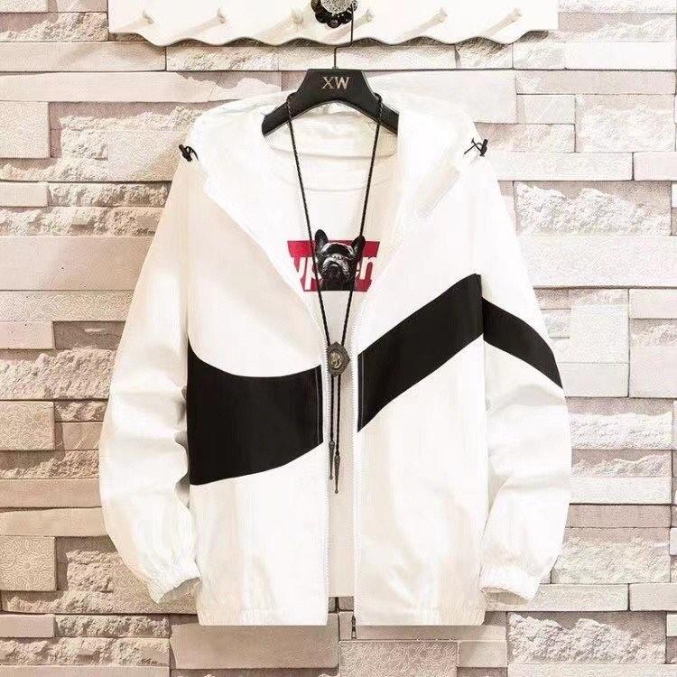 Nike нимгэн цагаан куртик